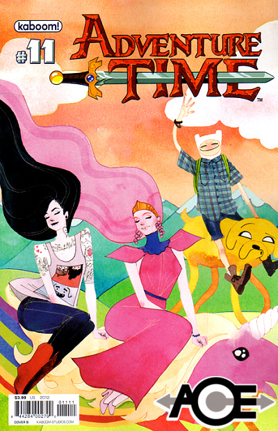 ADVENTURE TIME #11 - Cover B - New Bagged