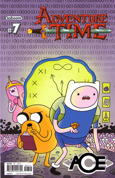 ADVENTURE TIME #7 - 1st Print - Cover A - New Bagged