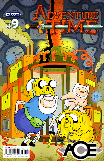 ADVENTURE TIME #9 - Cover A - New Bagged