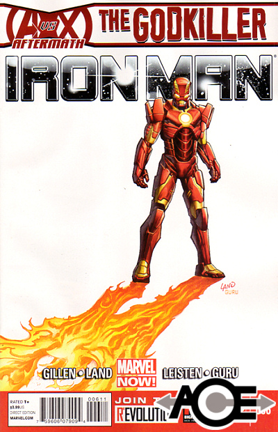 IRON MAN (2012) #6 - Marvel Now! - New Bagged