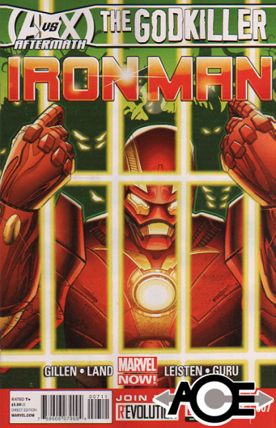 IRON MAN (2012) #7 - Marvel Now! - New Bagged