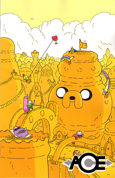 ADVENTURE TIME #6 Steve Wolfhard VIRGIN Cover 1:20