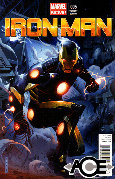 IRON MAN (2012) #5 - Marvel Now! - Jim Cheung VARIANT Cover 1:50